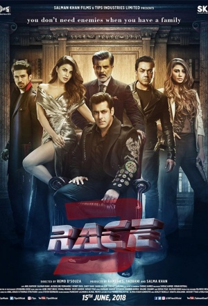 Race 3 Film Poster
