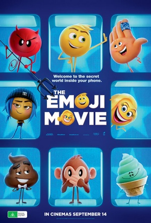 The Emoji Movie Film Poster