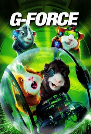G-Force 3D Film Poster