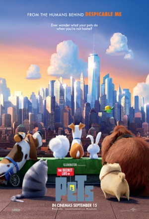 The Secret Life of Pets 3D Film Poster