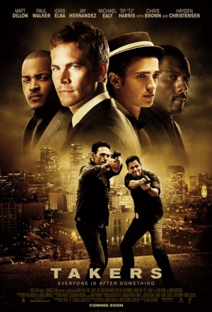 Takers Film Poster