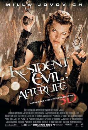Resident Evil: Afterlife 3D Film Poster