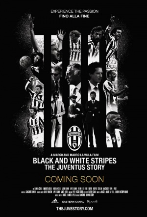 Black and White Stripes: The Juventus Story Poster