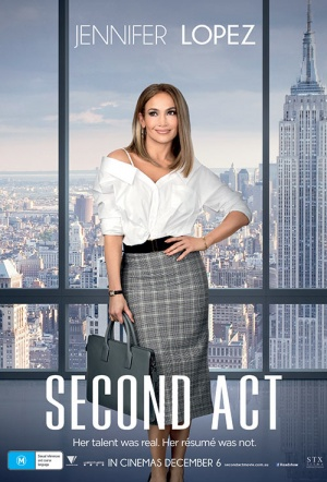 Second Act Film Poster