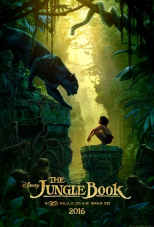 The Jungle Book 3D (2016) Film Poster