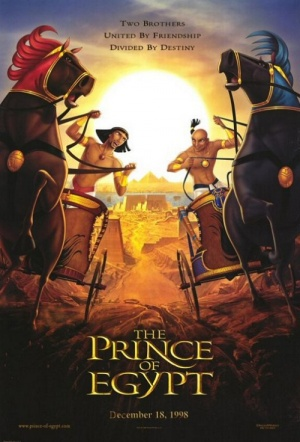 The Prince of Egypt Film Poster