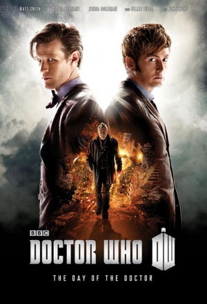 Doctor Who: The Day of the Doctor (50th Anniversary Episode) 3D Film Poster