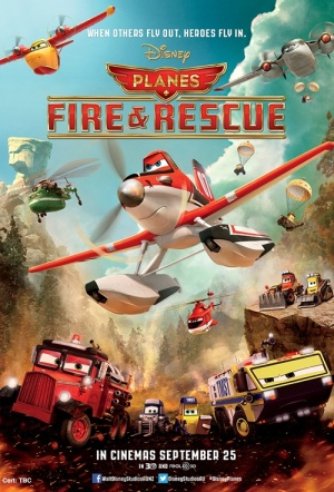 Planes: Fire & Rescue Film Poster