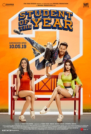 Student of the Year 2 Film Poster