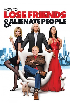How to Lose Friends & Alienate People Film Poster
