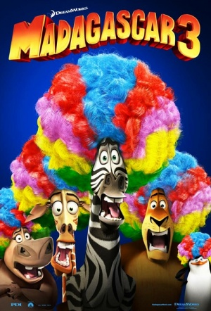 Madagascar 3: Europe's Most Wanted Film Poster