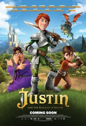 Justin and the Knights of Valour Film Poster