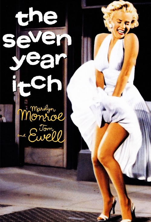 The Seven Year Itch Film Poster