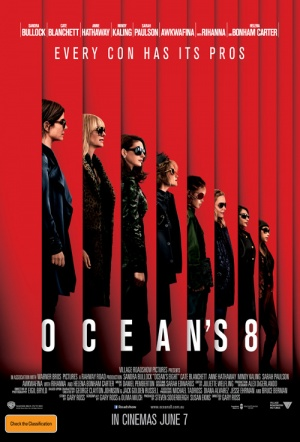 Ocean's Eight Film Poster