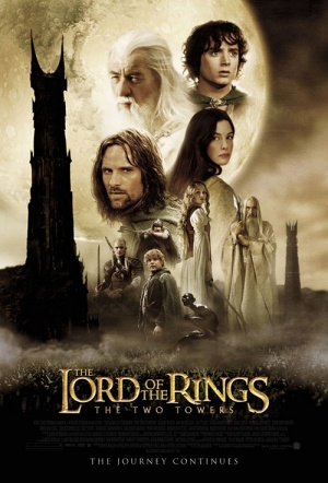The Lord of the Rings: The Two Towers Film Poster