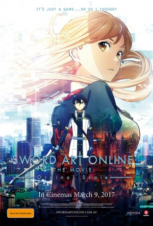 Sword Art Online the Movie: Ordinal Scale (English dub)