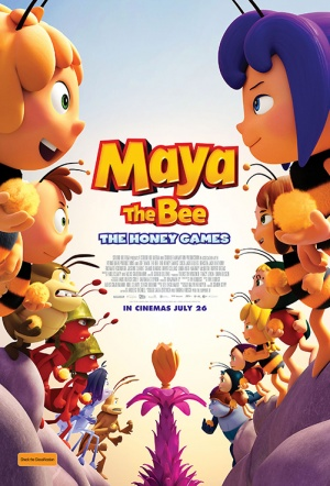 Maya The Bee: The Honey Games Film Poster
