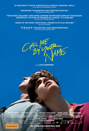 Call Me by Your Name Film Poster