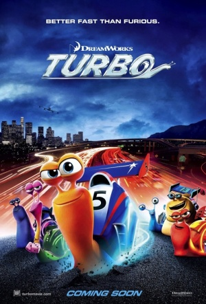 Turbo 3D Film Poster