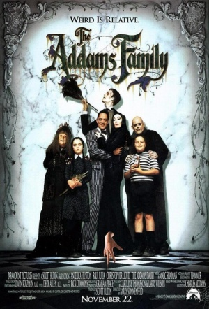 The Addams Family Film Poster