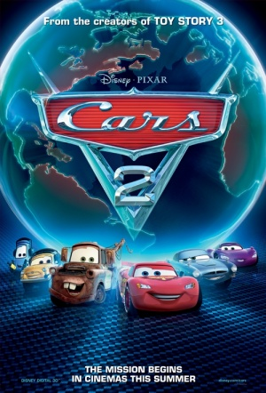Cars 2 3D Film Poster