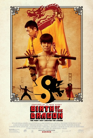 Birth of the Dragon Film Poster