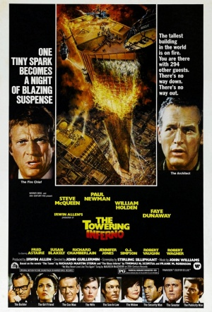 The Towering Inferno Film Poster