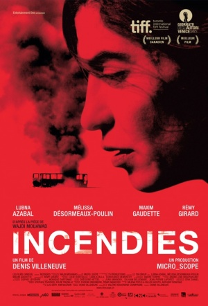 Incendies Film Poster