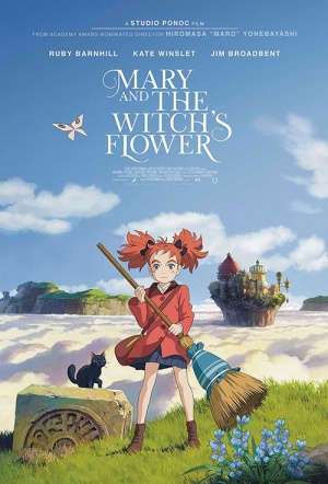Mary and the Witch's Flower (English dub) Film Poster