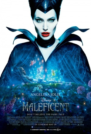 Maleficent 3D Film Poster