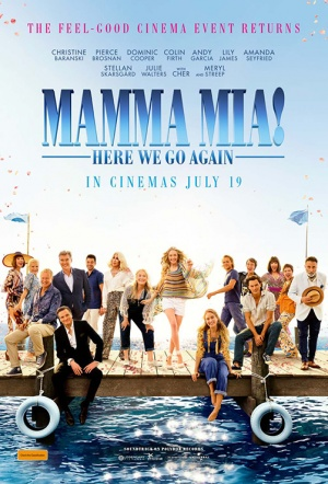 Mamma Mia! Here We Go Again: Sing-Along Film Poster