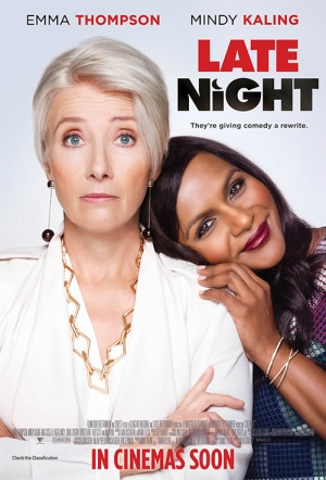 Late Night - Ladies Night Screening Film Poster