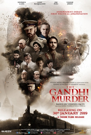 The Gandhi Murder Film Poster