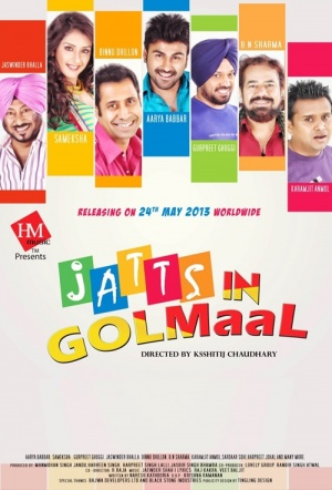 Jatts in Golmaal Film Poster