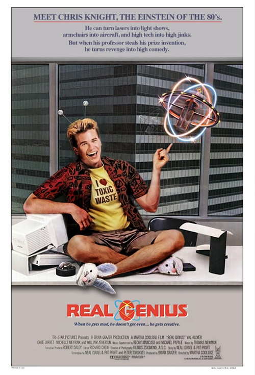 Real Genius Film Poster