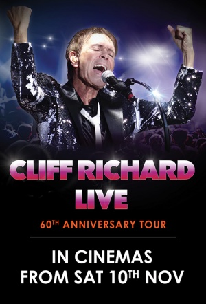 Cliff Richard Live: 60th Anniversary Tour Film Poster