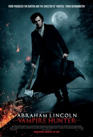 Abraham Lincoln: Vampire Hunter 3D Film Poster
