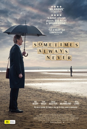 Sometimes Always Never Film Poster