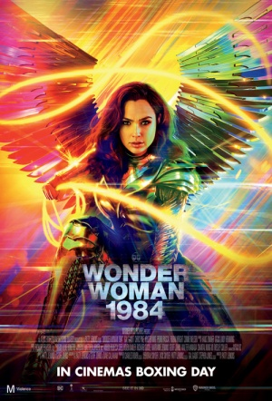 Wonder Woman 1984 3D Film Poster