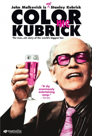 Colour Me Kubrick Film Poster
