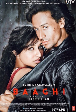 Baaghi: A Rebel for Love Film Poster