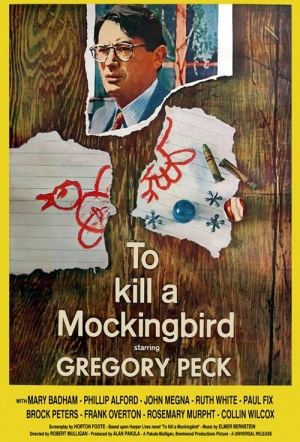 To Kill a Mockingbird Film Poster