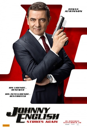Johnny English Strikes Again Film Poster