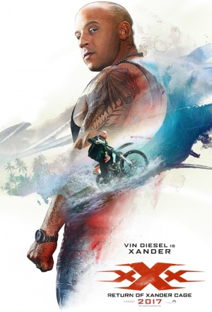 xXx 3D: Return of Xander Cage Film Poster