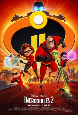 The Incredibles 2 3D Film Poster