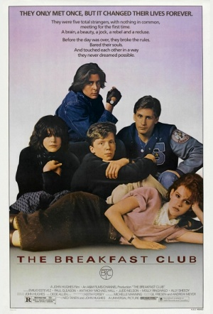 The Breakfast Club Film Poster