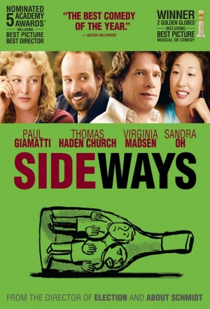 Sideways Film Poster