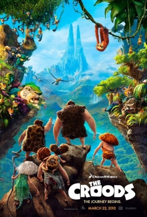 The Croods 3D Film Poster