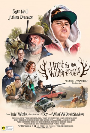 Hunt For the Wilderpeople Film Poster