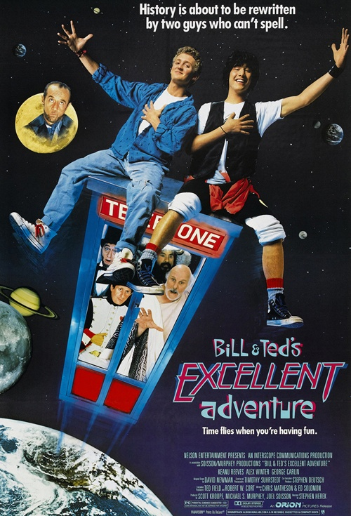 Bill and Ted's Excellent Adventure Film Poster